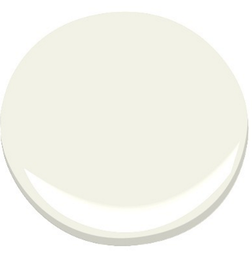 benjamin moore cloud white 967 chenille and champagne. Black Bedroom Furniture Sets. Home Design Ideas